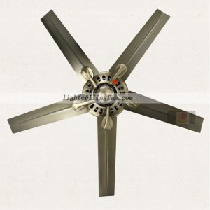 Metal Modern Ceiling Fan without light for Dinning Room
