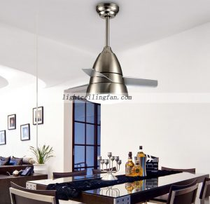 Remote Control Plywood Ceiling Fan Light