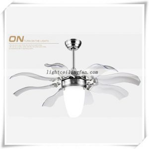 Decorative Foldable Blades 42inch ceiling Fan Light