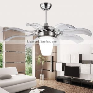 Decorative Foldable Blades retractable blades ceiling Fan