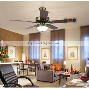 Luxury Green bronze decorative ceiling fans with lights fancy ceiling fan