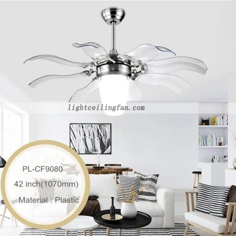 Decorative foldable blades 42 retractable blades ceiling fan light decorative foldable blades 42 retractable blades ceiling fan light ceiling fan light aloadofball Images