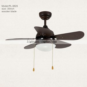 30inch Wooden Kids Ceiling Fan Lights Modern Ceiling Fans