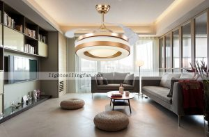 42inch-copper-fan-gold-color-invisible-blade-ceiling-fan-with-led-light