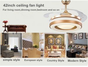 42inch-copper-fan-gold-color-invisible-blades-ceiling-fan-light