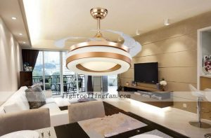 42inch-copper-fans-gold-color-invisible-blade-ceiling-fan-with-led-light