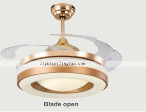 42inch-copper-fans-gold-color-invisible-blades-ceiling-fan