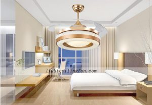 42inch-copper-fans-gold-color-invisible-blades-ceiling-fan-with-led-lights