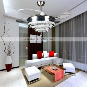 42inch-four-hidden-blades-led-ceiling-light-fan