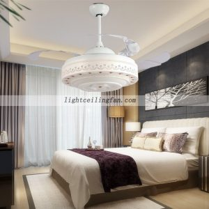 42inch-modern-transparent-plastic-blades-folding-ceiling-fan