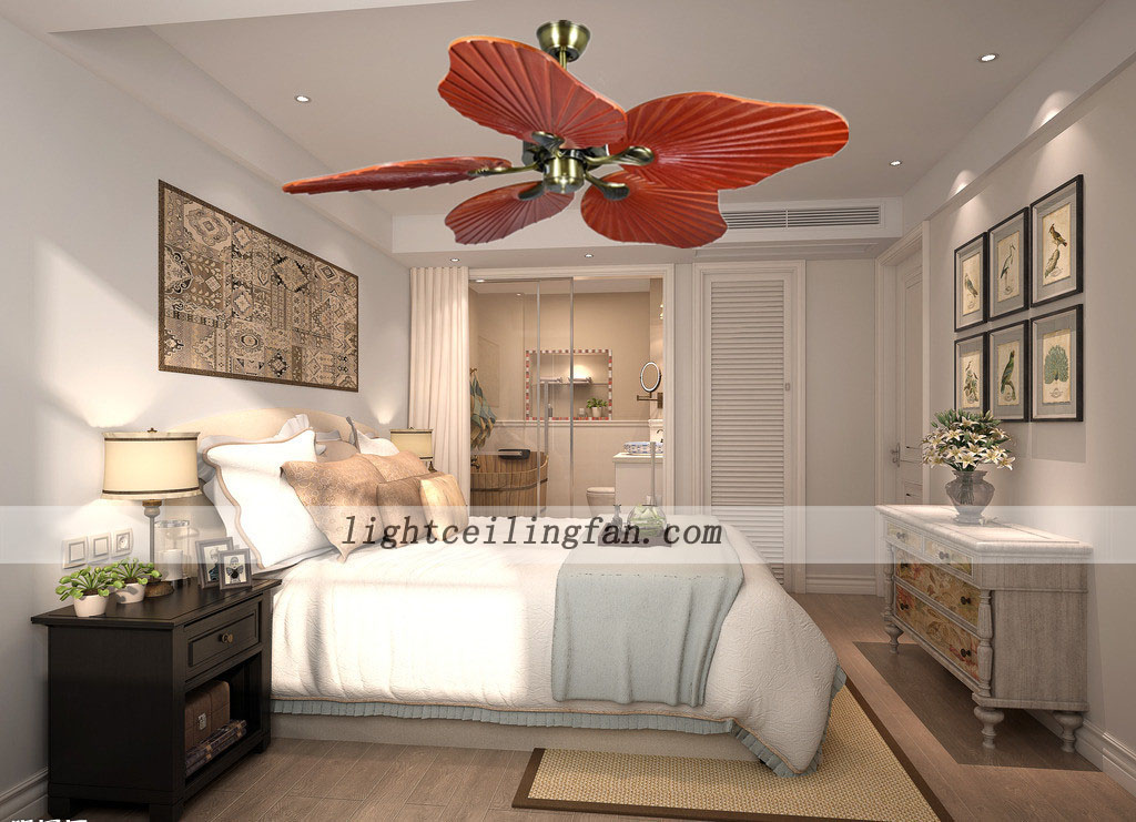 Decorative Home Flush Mount Ceiling Fan Light Kit 42 Inch