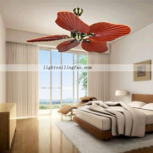 48inch-decorative-wood-leaf-ceiling-fan-living-room-ceiling-fan-lighting