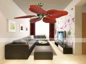 48inch-decorative-wood-leaf-ceiling-fans-light-living-room-ceiling-fan-lighting