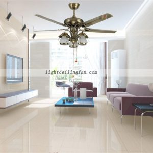 52inch-green-bronze-metal-ceiling-fan-lights