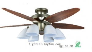 antique-brass-fans-flushmount-ceiling-fan-42inch-48inch-wooden-blades