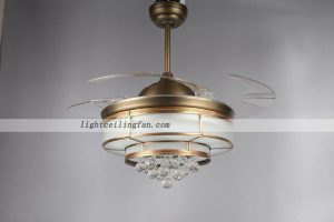 copper-fan-acrylic-blades-crystal-ceiling-fans-with-led-lighting