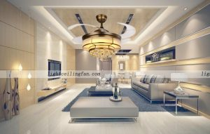 copper-fans-acrylic-blades-crystal-ceiling-fans-with-led-lighting