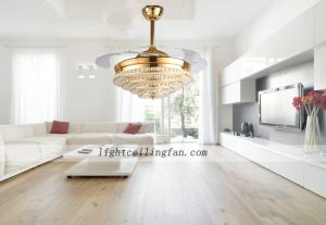 crystal-led-ceiling-fans-light-with-acrylic-fan-blade