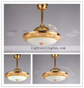 decorative-four-acrylic-blade-indoor-ceiling-fans