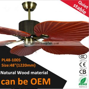 decorative-wood-leaf-ceiling-fan-light-living-room-ceiling-fan-lighting