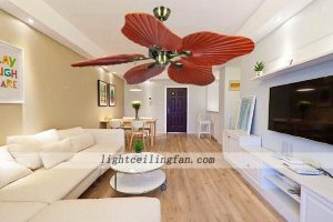 decorative-wood-leaf-ceiling-fan-living-room-ceiling-fan-lighting