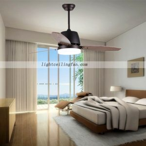 european-brown-52-inch-led-ceiling-fan-with-lights-bedroom-decorative