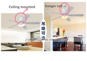 flush-mount-fan-modern-wooden-decorative-ceiling-fans-lighting