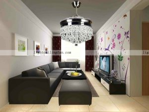 LED Ceiling Fan With Remote Controlling