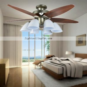 luxury-antique-brass-fans-flushmount-ceiling-fans-42inch-48inch-wooden-blades