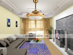 remote-decorative-four-acrylic-blade-indoor-ceiling-fan