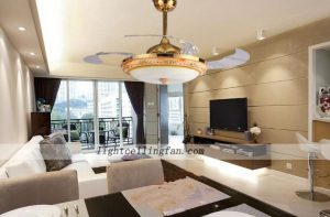 remote-decorative-four-acrylic-blade-indoor-ceiling-fans