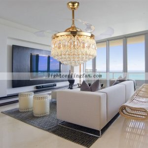 transparent-crystal-decorative-ceiling-fans-light