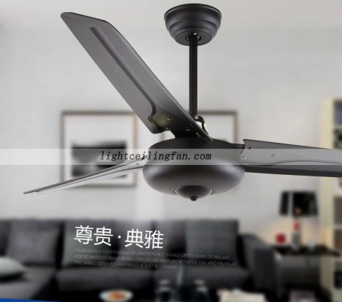 42inch black reversible 3 blade indoor modern ceiling fan light 42inch black reversible 3 blade indoor modern ceiling fan light ceiling fan light aloadofball Gallery