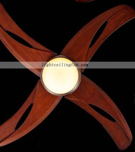 42inch Living Room Decorative Led Wooden Ceiling Fans