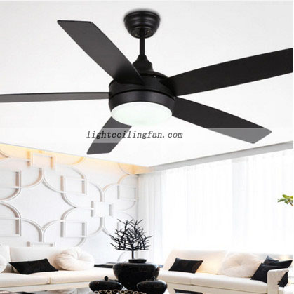 48inch Modern Ceiling Fan With Led Light Kit And Remote Ceiling