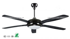 56inch-black-decorative-ceiling-fans-with-remote-control-and-lights