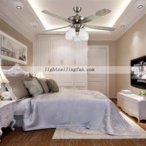 sand-nickel-indoor-ceiling-fans-with-light-five-reversible-blade-remote-control