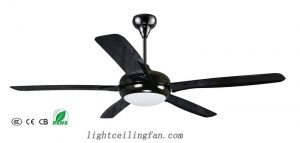 black-decorative-ceiling-fans-with-remote-control-and-light