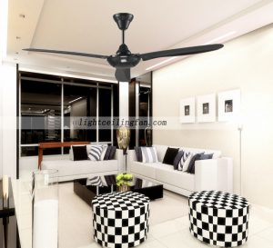 black-ceiling-fan-contemporary-ceiling-fans-without-lights
