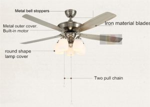 indoor-ceiling-fans-with-light-five-reversible-blades-remote-control