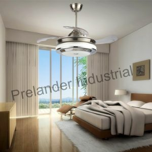 42inch-decorative-ceiling-fan-light-acrylic-blades-invisible-ceiling-fan
