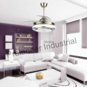 42inch-decorative-ceiling-fan-lighting-light-acrylic-blades-invisible-ceiling-fan