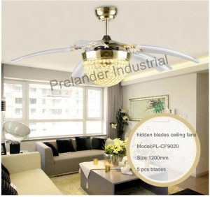 42inch-led-ceiling-fans-foldable-invisible-blades-ceiling-fan