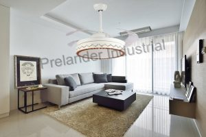 invisible-decorative-ceiling-fan-with-light