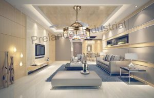 modern-ceiling-fans-with-lights-invisible-led-folding-ceiling-fan-dining-room