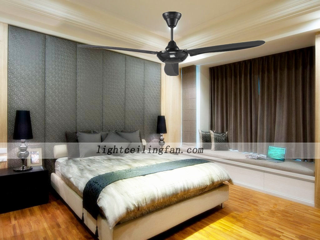 56-inch-black-ceiling-fans-contemporary-ceiling-fans-without-light ...