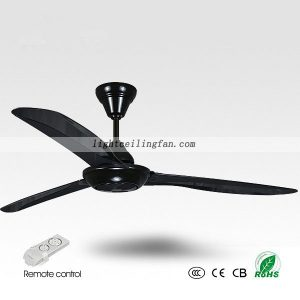 56 Inches Black Ceiling Fan