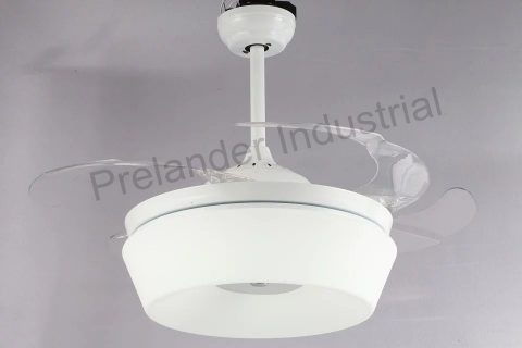 42inch Acrylic Blades Led Ceiling Fan With Light Kit And Remote